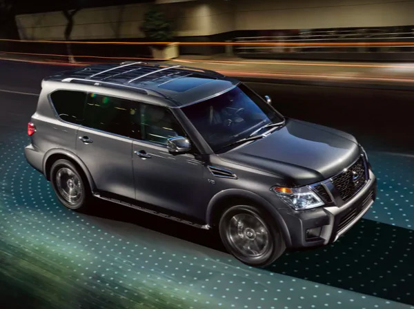 Nissan Armada - Safety