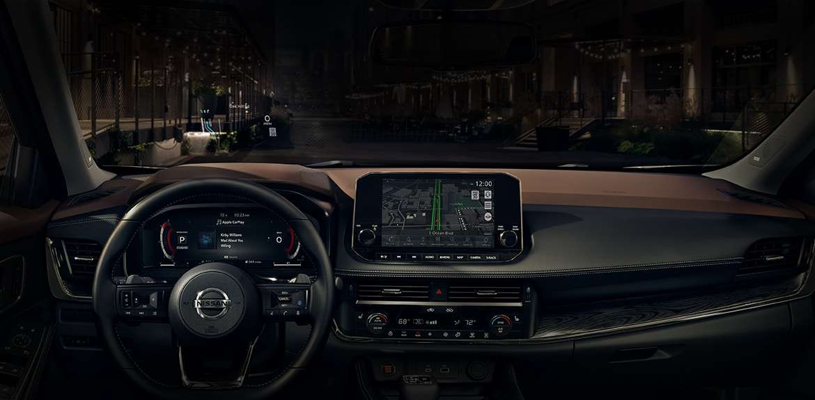 Nissan Rogue - Wireless Charging and Connectivity
